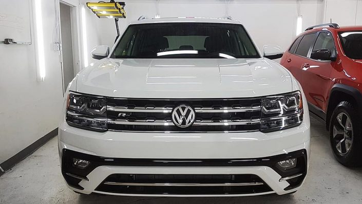 Volkswagen ATLAS is protected with Ceramic Pro nano coating in Edmonton