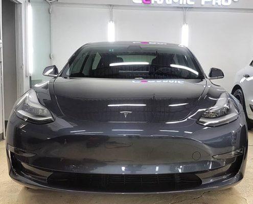 Tesla Model 3 Paint Protection in Edmonton, AB