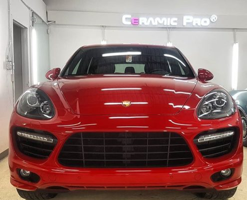 Porsche Cayenne GTS 2013 Paint Protection in Edmonton, AB