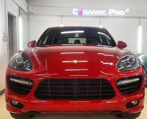 Porsche Cayenne GTS 2013 Paint Protection in Edmonton, AB