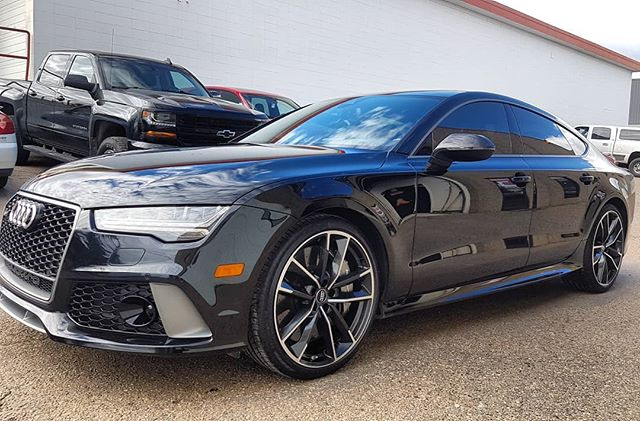 2015 Audi RS7 Paint Protection in Edmonton, AB