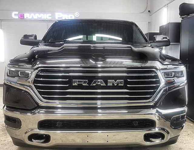 Dodge Ram Paint Protection in Edmonton, AB
