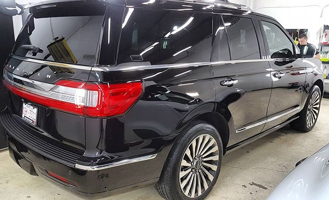 Lincoln Navigator Paint Protection in Edmonton, AB