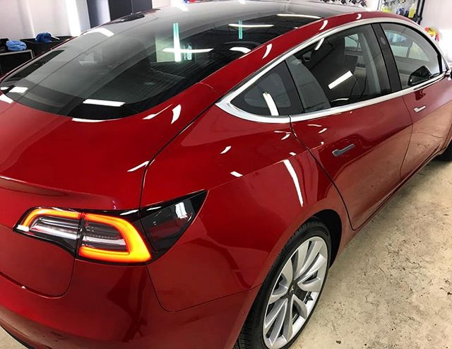 Tesla Paint Protection in Edmonton, AB
