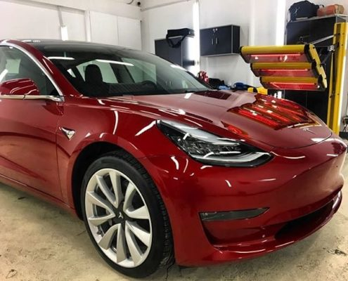 Tesla Paint Protection in Edmonton, AB