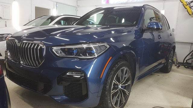 2019 BMW X5 Paint Protection in Edmonton, AB