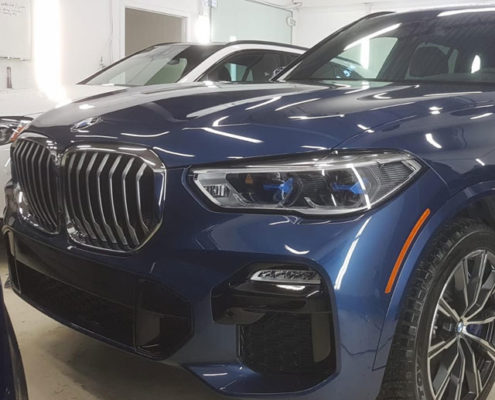 2019 BMW X% paint protection in Edmonton, AB
