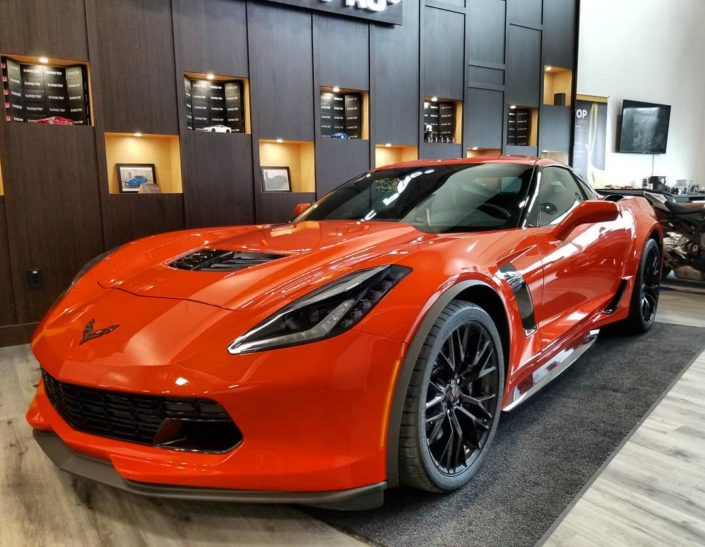 Xpel for Corvette ZO6 in Edmonton