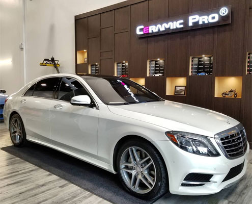 Mercedes-Benz S550 Ceramic Pro in Edmonton