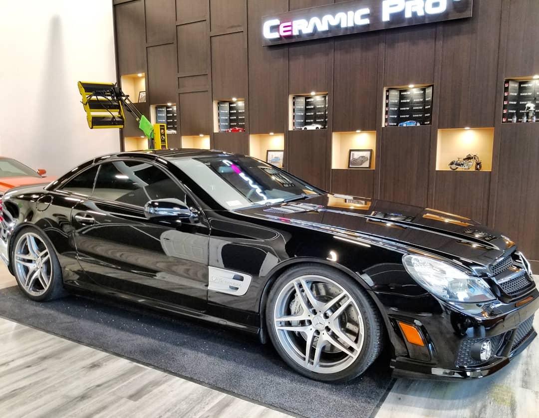 Mercedes-Benz SL65 AMG Ceramic Pro in Edmonton