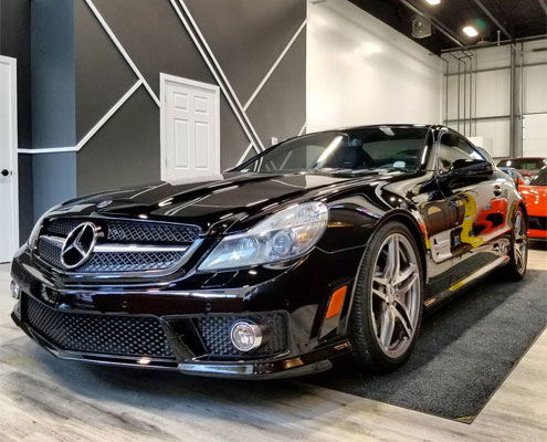 Mercedes-Benz SL65 AMG Ceramic Pro in Edmonton