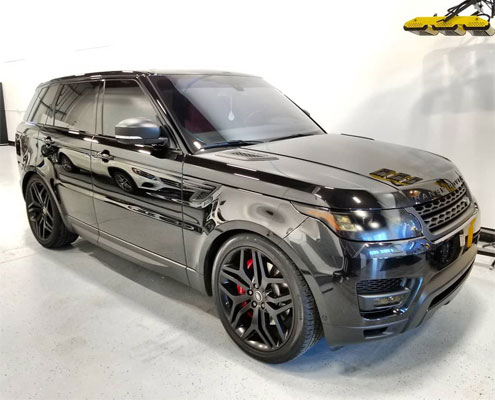 Range Rover Sport Supercharged 2017 Paint correction in Edmonton