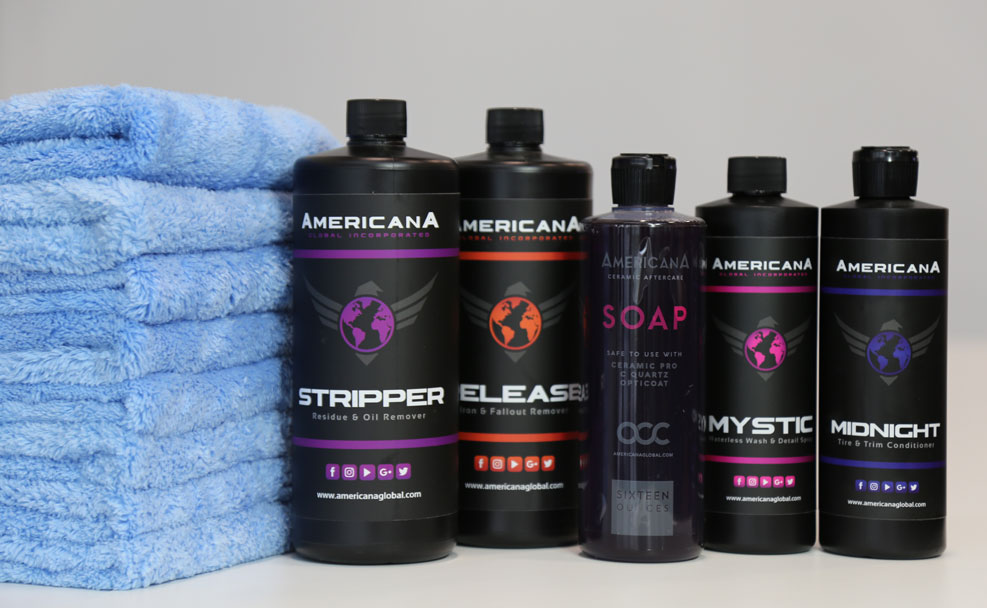 Americana Global auto detailing supplies in Canada