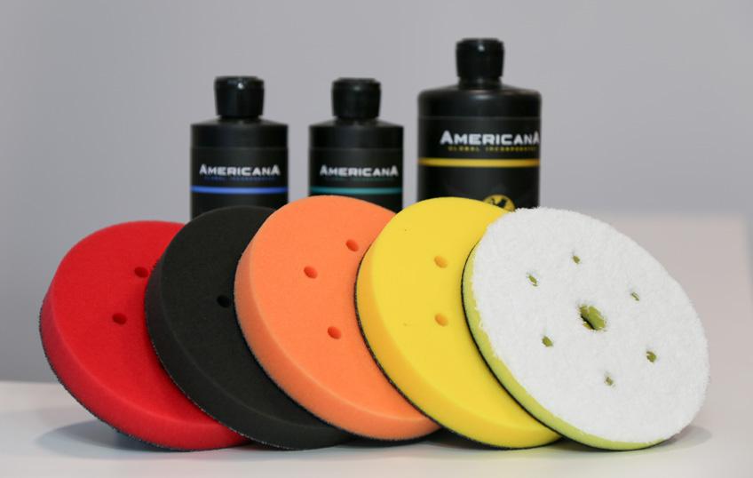 Americana Global polishing pads in Canada