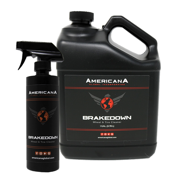 Americana Global Brakedown Wheel Tire Cleaner