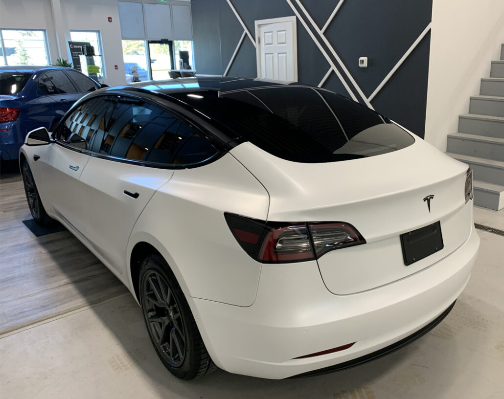 2019 Tesla Model 3 Paint Protection Project by First ...