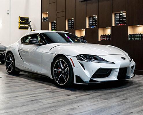 2020 Toyota Supra White