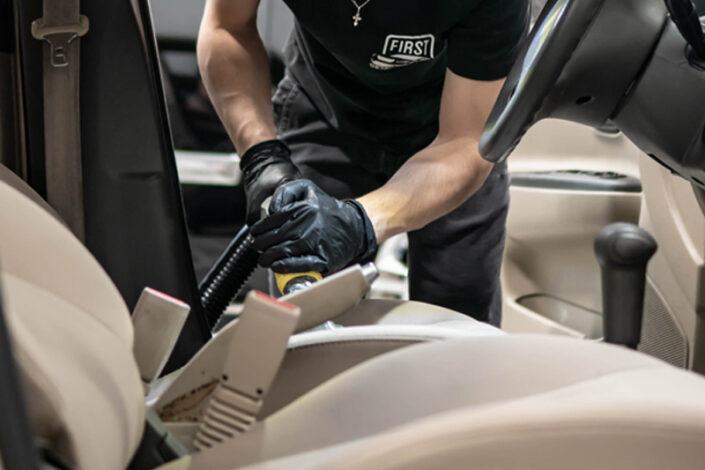 Interior Detailing Vacuuming