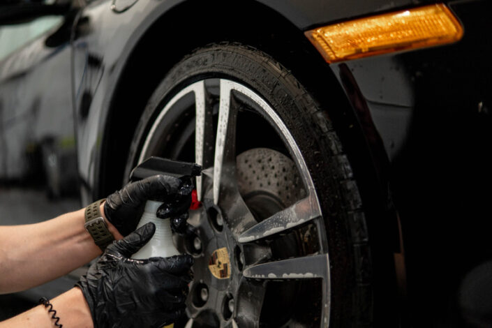 Hand Wash Tires
