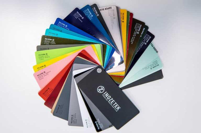 Vinyl colour options